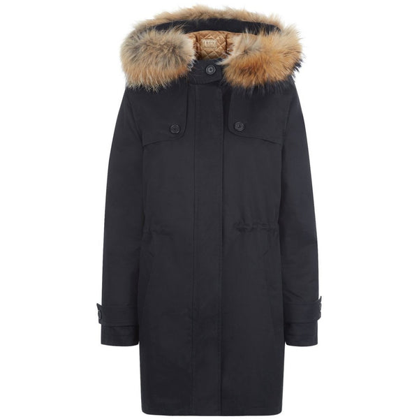 Troy Parka in Black - croftonandhall