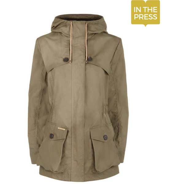 Wax Parka in Khaki - Crofton & Hall