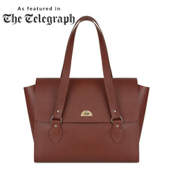 Emily Tote in Bay Celtic Grain - croftonandhall