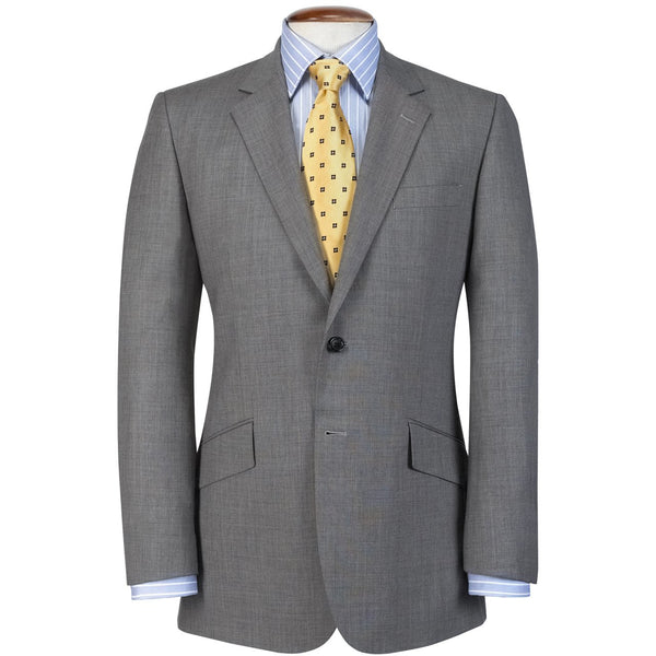Dawlish Grey Sharkskin Suit - croftonandhall