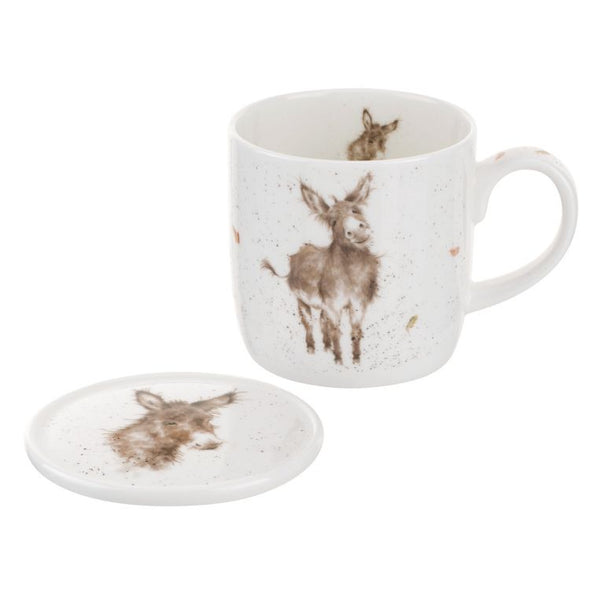 Wrendale Donkey Mug and Coaster - Crofton & Hall