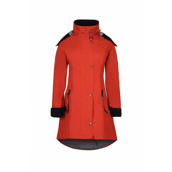 Louise Sienna Water Repellent Windproof Washable Cotton Coat - croftonandhall