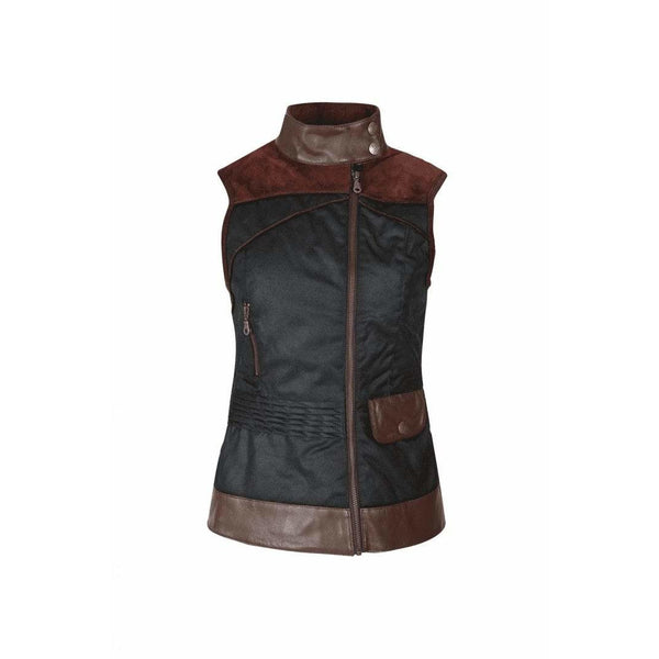 Roxy Chocolate Wax Gilet - croftonandhall