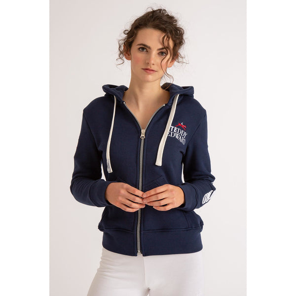 Abi - Women's Embroidered Hoodie - Crofton & Hall