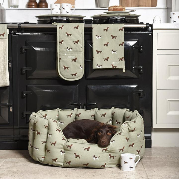 Spaniel Dog Bed - croftonandhall