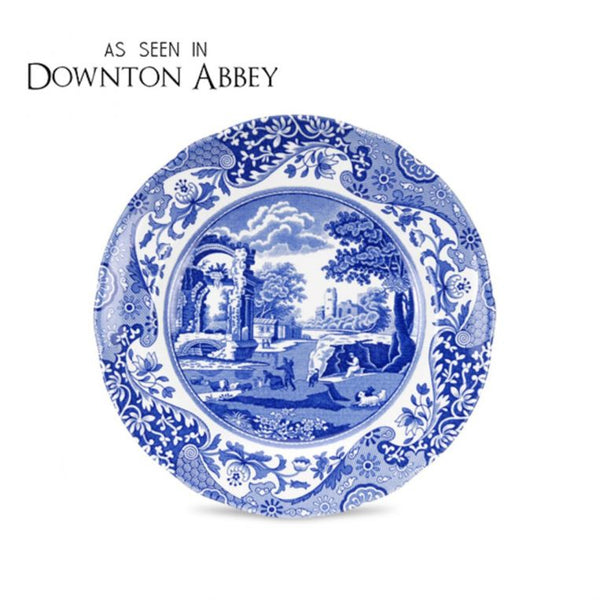 Blue Italian 8 inch Side Plates Set of 4 - Crofton & Hall