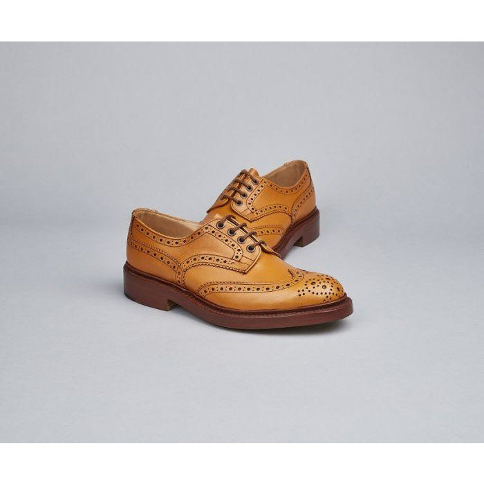 Bourton Country Shoe in Acorn Antique - croftonandhall