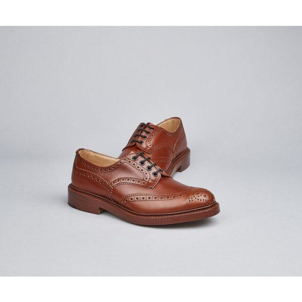 Bourton Country Shoe in Marron - croftonandhall