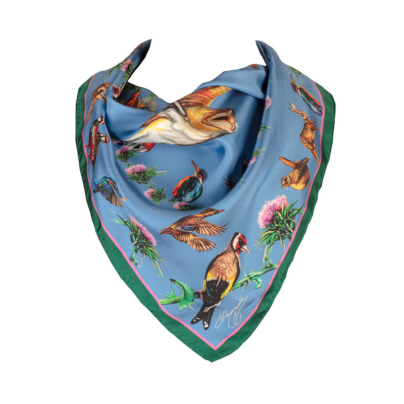 Walk on the Wild Side Silk Scarf - croftonandhall
