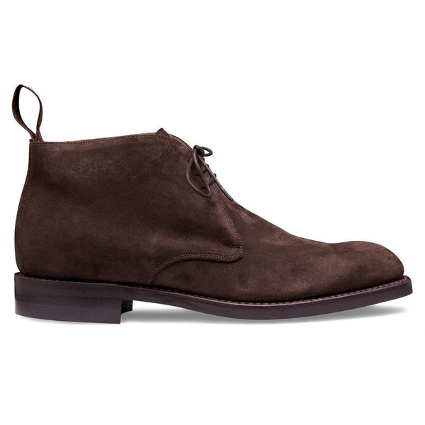 Jackie III Chukka Boot in Brown Suede - croftonandhall
