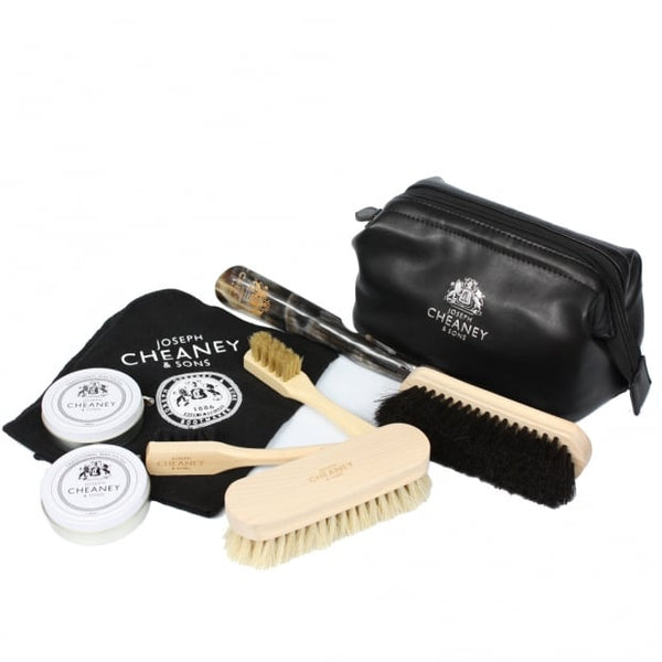 Travel Shoe Care Kit - Crofton & Hall