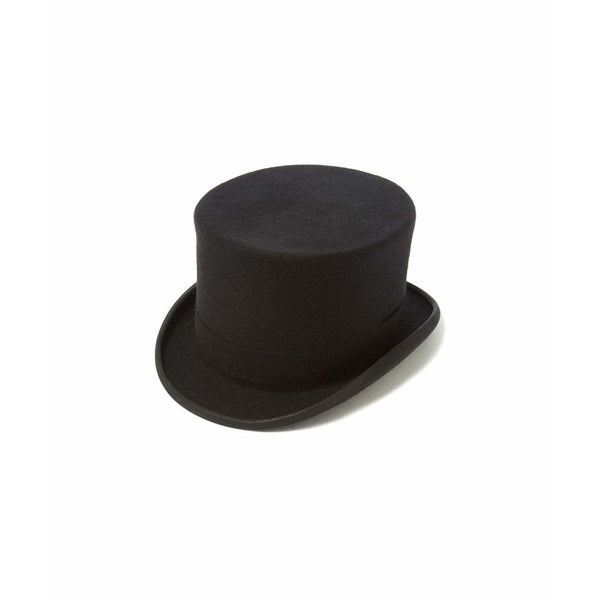 Wool Top Hat in Black - croftonandhall