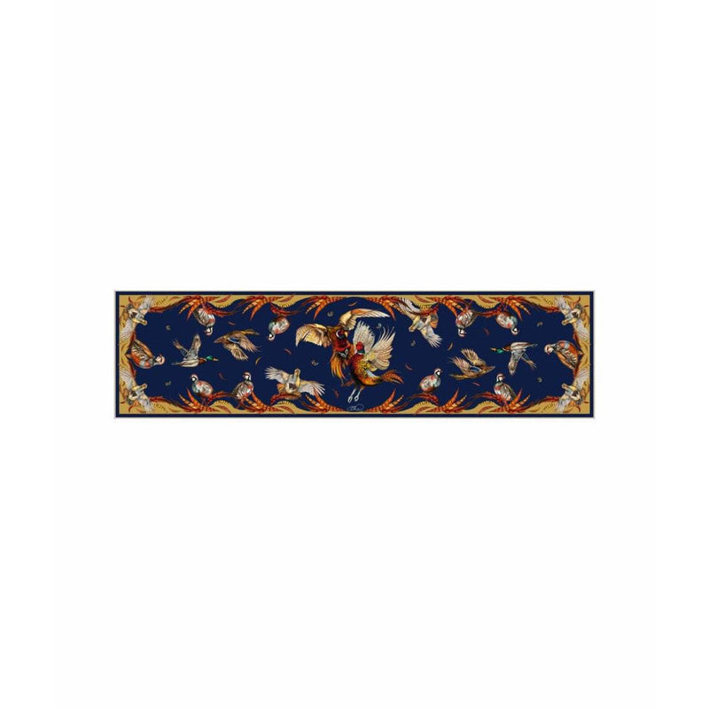 'Best in Show' Navy Limited Edition Silk Scarf - croftonandhall