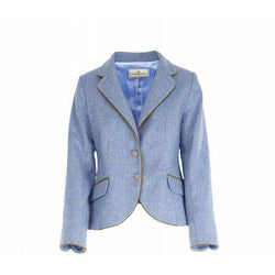 The Clitheroe - Powder Blue & Tan - croftonandhall
