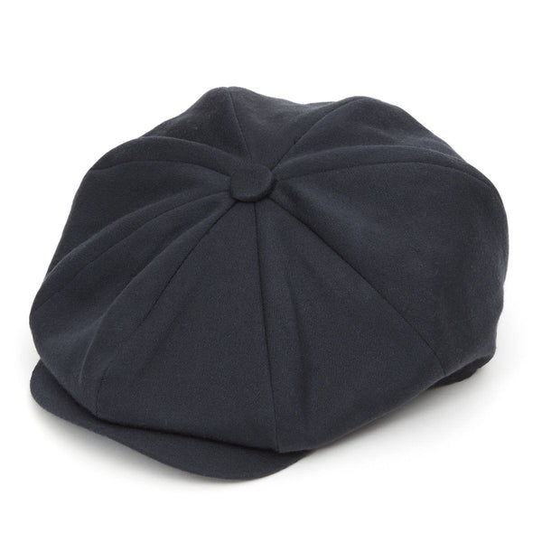 8 Piece Baker Boy in Navy Satin Wool - croftonandhall