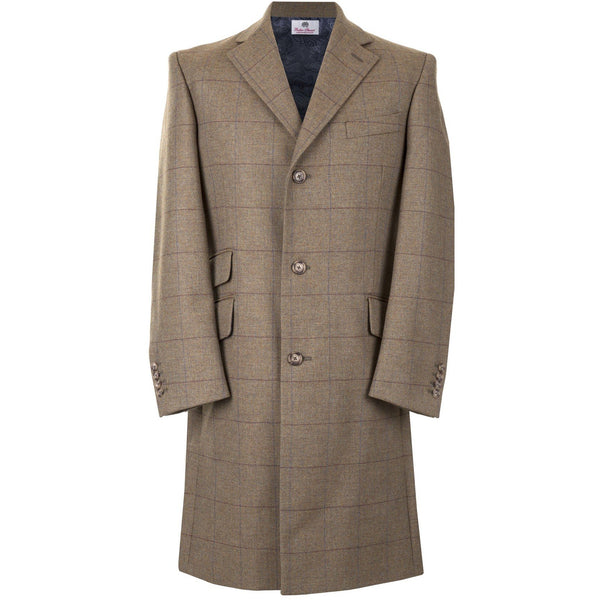 Courtauld Coat in Harvest Brown - croftonandhall