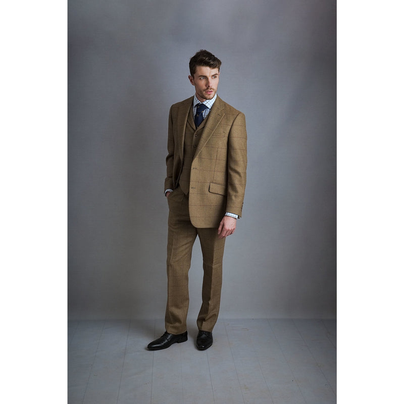 Watson Jacket in Harvest Brown Tweed - croftonandhall