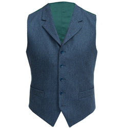 Christopher Waistcoat in Oxford Blue - croftonandhall
