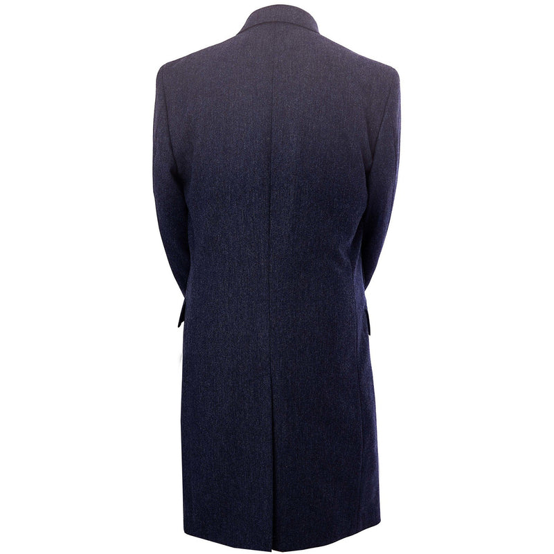 Courtauld Coat in Oxford Blue - croftonandhall
