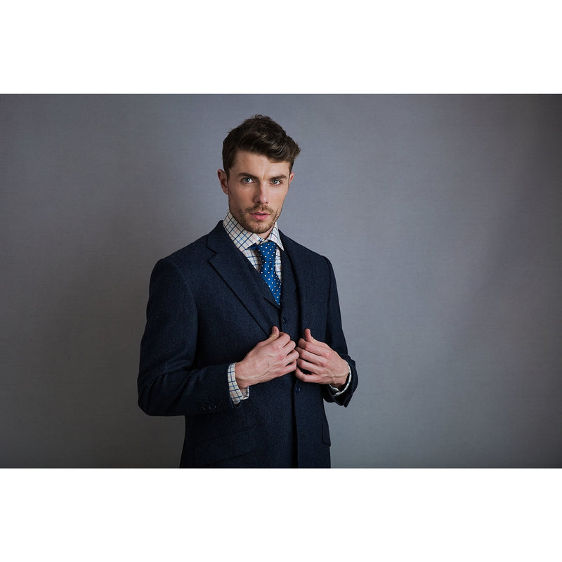 Watson Jacket in Oxford Blue - croftonandhall