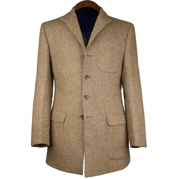 Nehru Country Jacket in Shaw Tweed - croftonandhall