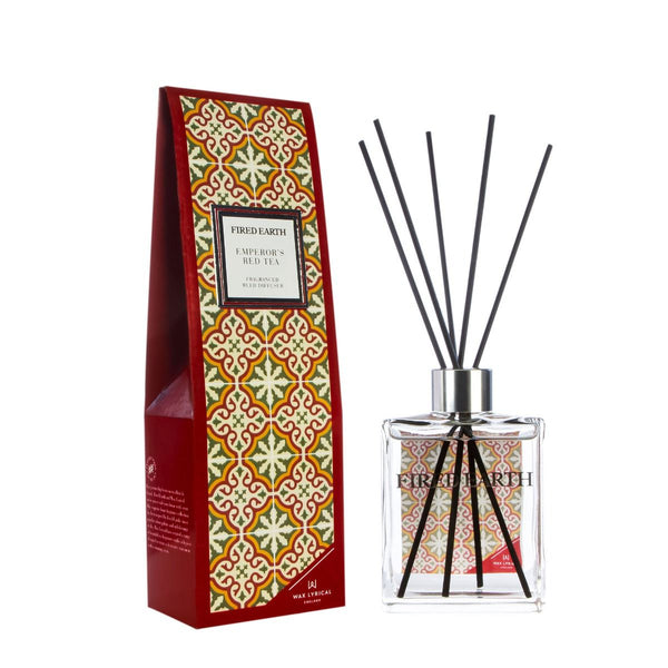 Fired Earth Emperors Red Tea 180ml Reed Diffuser - croftonandhall