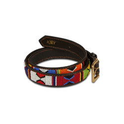 Beaded Belt - Jua (Narrow) - croftonandhall