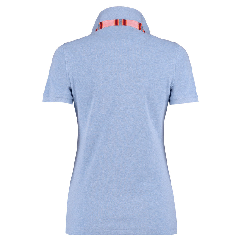 Light Blue Polo Top - Gusii - croftonandhall