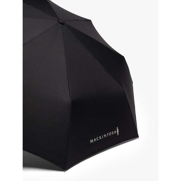 Ayr Black Automatic Telescopic Umbrella - Crofton & Hall