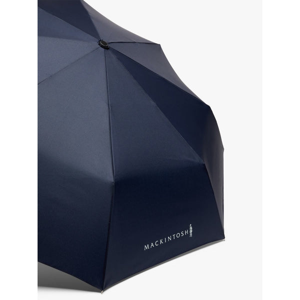 Ayr Navy Automatic Telescopic Umbrella - Crofton & Hall