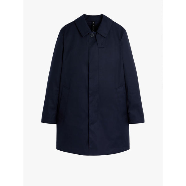 Cambridge Cotton Raintec Navy Raincoat - croftonandhall