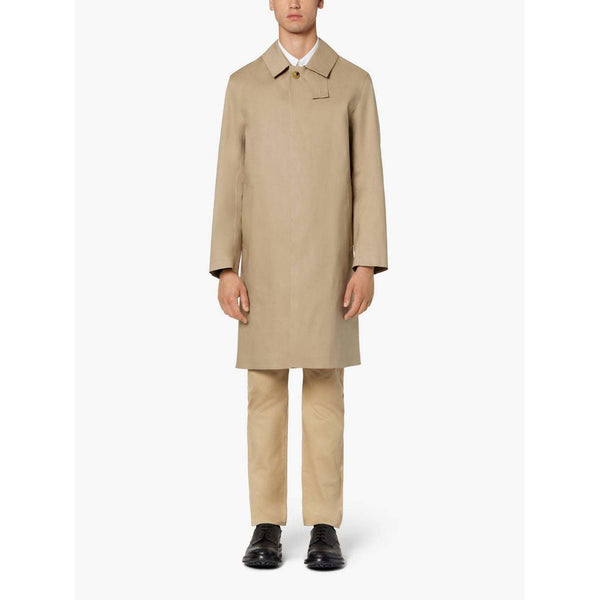 Oxford Fawn Bonded Cotton 3/4 Coat - croftonandhall