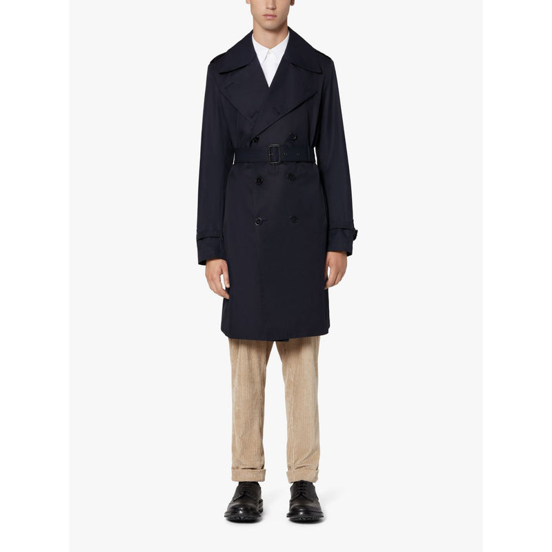 St Andrews Ink Cotton Trench Coat - croftonandhall