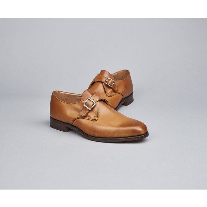 Mayfair Monk Shoe in 1001 Burnished - croftonandhall