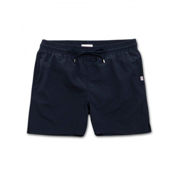 Men's Classic Fit Swim Shorts Aruba in Navy - croftonandhall