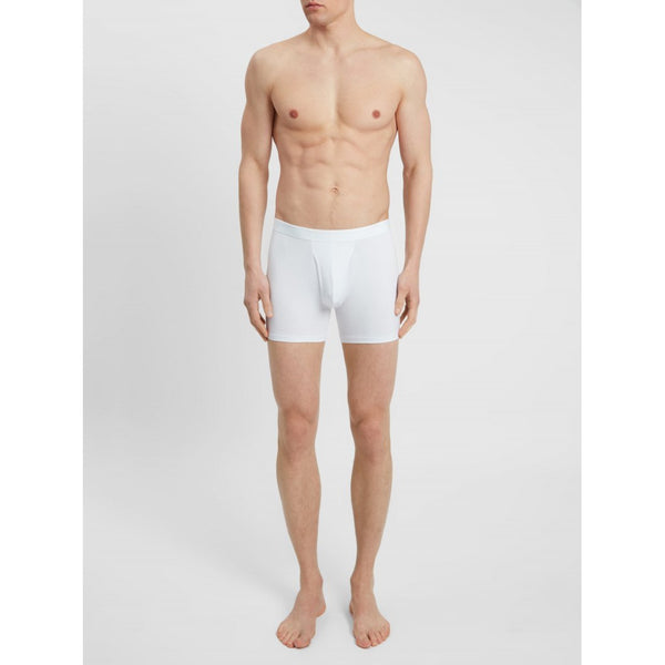 Alex Micro Modal Stretch Trunk in White - croftonandhall