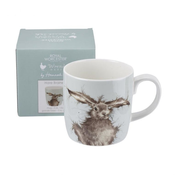 Wrendale Hare Brained Large 14oz Mug - croftonandhall