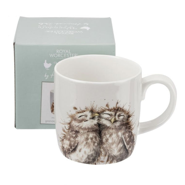 Wrendale Owls Large 14oz Mug - Crofton & Hall