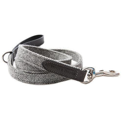 Stoneham Tweed & leather Dog Lead - croftonandhall