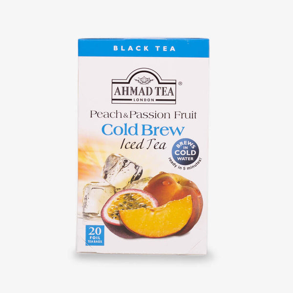 Peach & Passion Fruit Cold Brew Iced Green Tea Bags - croftonandhall