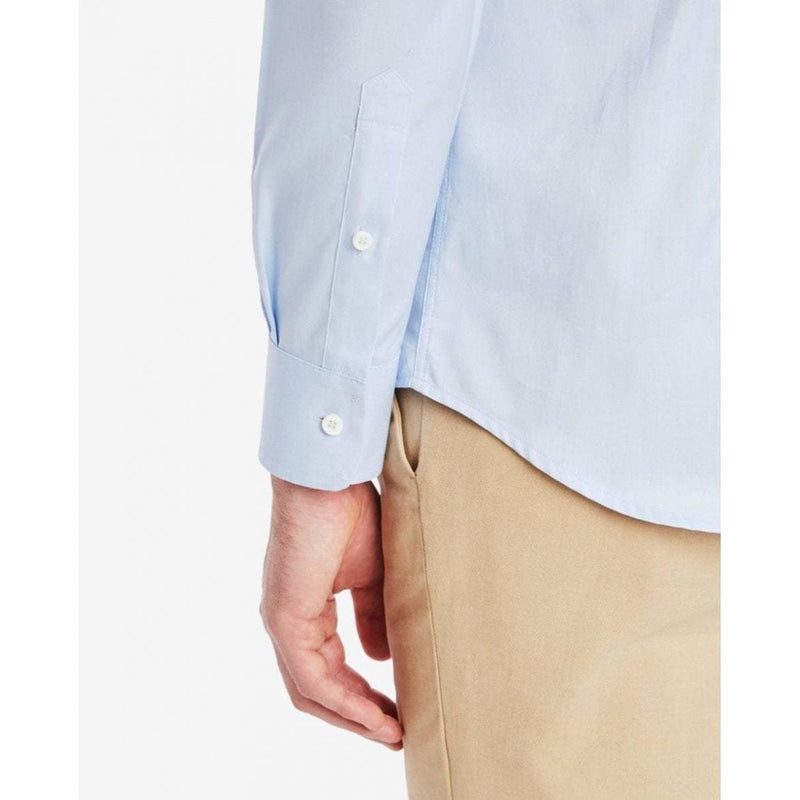 Button Down Oxford Shirt in Light Blue - croftonandhall