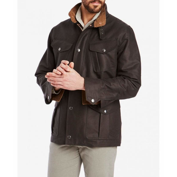The Field Jacket in Deep Forest - croftonandhall