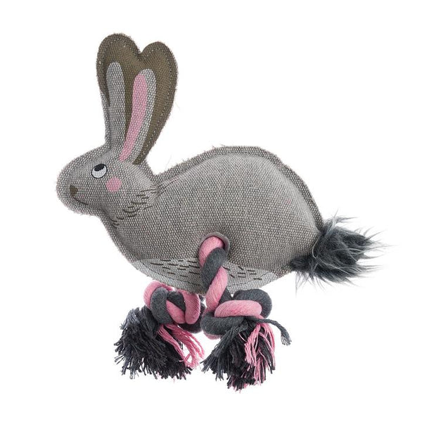 Hare Rope Dog Toy - croftonandhall