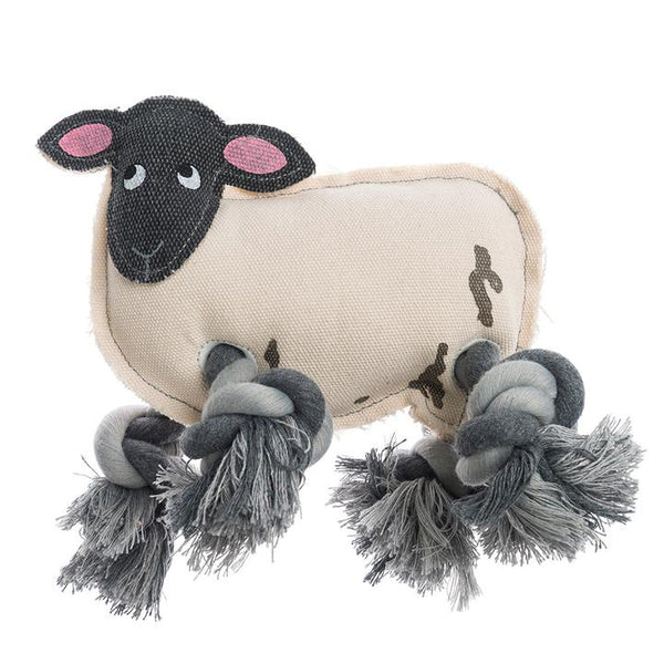 Sheep Rope Dog Toy - croftonandhall