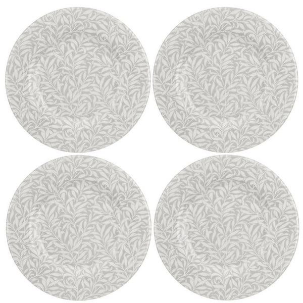 Pure William Morris Willow Bough 8.75 inch Plate Set of 4 - croftonandhall