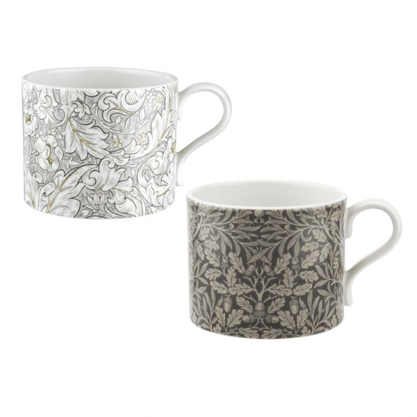 Pure Morris Bachelors & Acorn 12fl.oz Mug Set of 2 - croftonandhall
