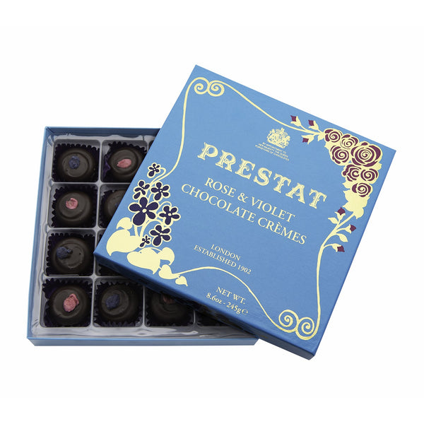 Rose & Violet Chocolate Cremes 235g - Crofton & Hall