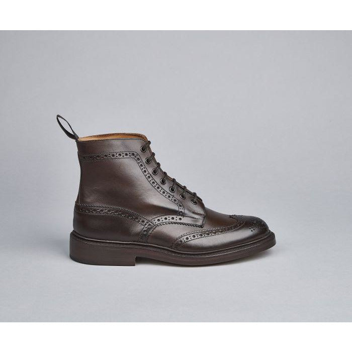 Stow Country Boot in Expresso - croftonandhall
