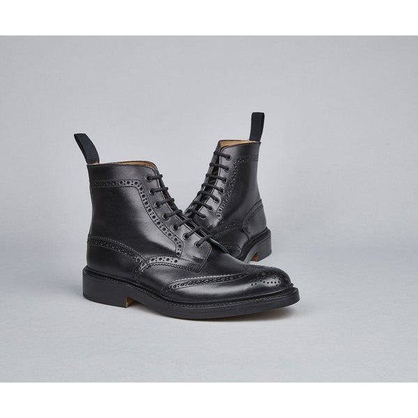 Stow Country Boot in Black - croftonandhall