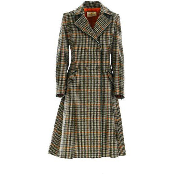 The Coat - Multi Check Green - Crofton & Hall